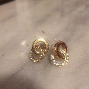 Kate Spade good double circle earrings